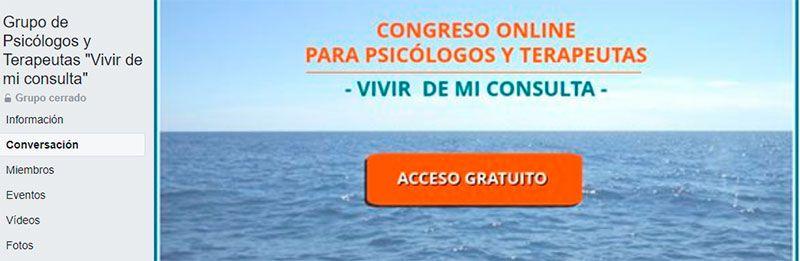 """Grupo de Psicólogos y Terapeutas """"Vivir de mi consulta"""""""