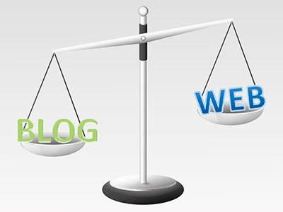 Diferencia entre Blog y Web