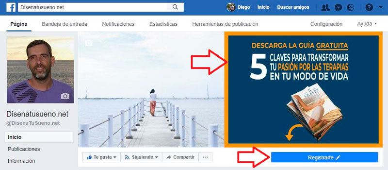 Cabecera Facebook DiseñaTuSueño