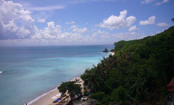 Playa Padang Padang en Bali