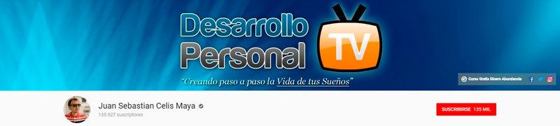 youtube Desarrollo personal