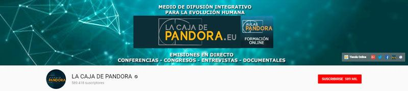 Canal de youtube de La Caja de Pandora