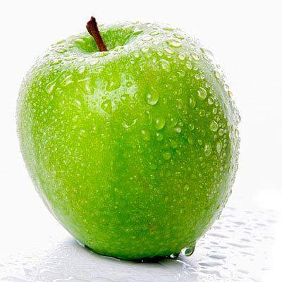 manzana color verde