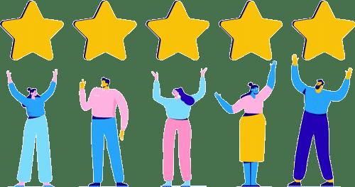 reviews sobre un productos o servicios